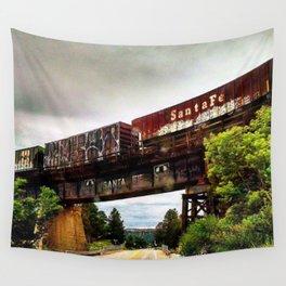Graffiti Train Wall Tapestry