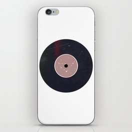 Vinyl Record Star Sign Art | Capricorn iPhone Skin