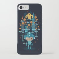 megaman iPhone & iPod Cases featuring MEGAMAN METTA by Jon Reinfurt
