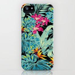 Tropical Greenery Island Dreams iPhone Case