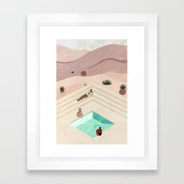 Amangiri Framed Art Print