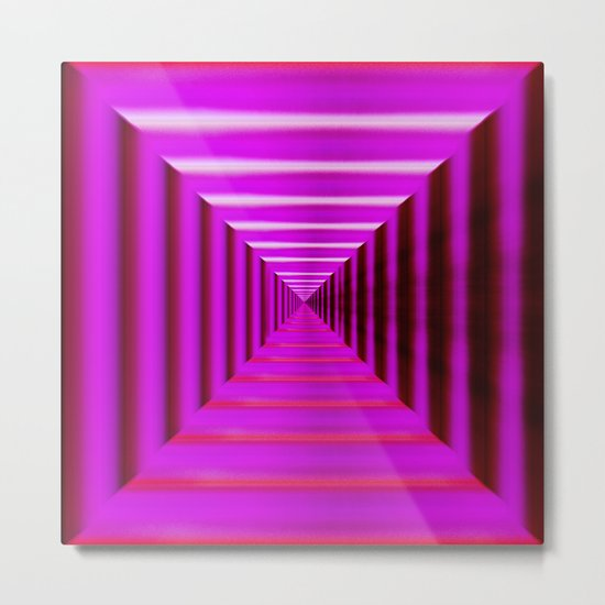 Purple Abyss Metal Print
