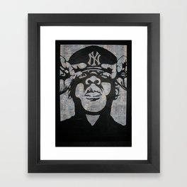 Jay-Z Framed Art Print