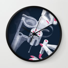 The seduction weapons Wall Clock