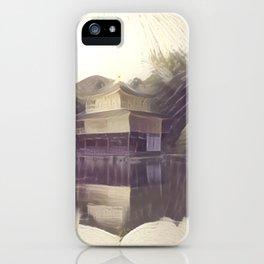 False Color Kyoto iPhone Case