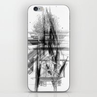 engineer iPhone & iPod Skins featuring Architect & Engineer Working Together by Rothko