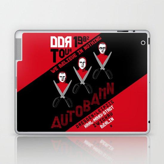 Autobahn--East German Tour 1982 Laptop & iPad Skin
