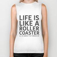sarcasm Biker Tanks featuring Sarcasm Quote by JasmineLeflore