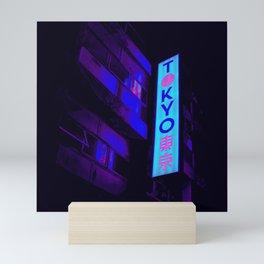 Retro Tokyo Mini Art Print