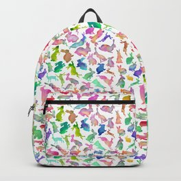 Watercolour Bunnies Backpack