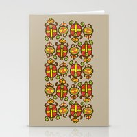 turtles Stationery Cards featuring Turtles by Olya Yang