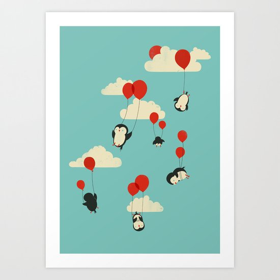 We Can Fly! Art Print