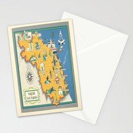 cartello marche e san marino italia Stationery Cards