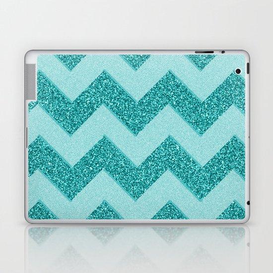 Chevron Frost Laptop & iPad Skin