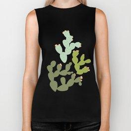 Prickly Pear Cacti Biker Tank