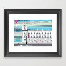 Walton Street Framed Art Print