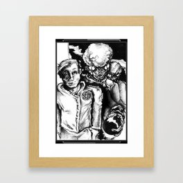 Sons of Atom - Illustration Framed Art Print