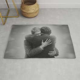 John and Sherlock Rug
