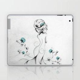 Poppy Poem Laptop & iPad Skin
