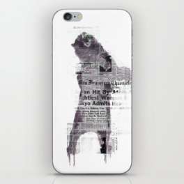 Bear Of Bad News iPhone Skin