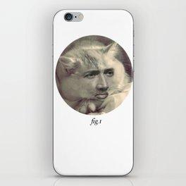 """fig.1"" grey iPhone Skin"