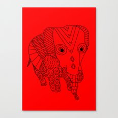 Elephant of the Day Canvas Print