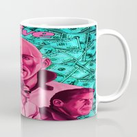 drive Mugs featuring Drive by David Amblard