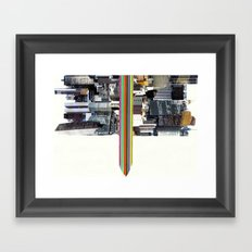 The Invisible Cities (dedicated to Italo Calvino) Framed Art Print