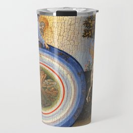 Giovanni di Paolo - The Creation of the World and the Expulsion from Paradise 1445 Travel Mug
