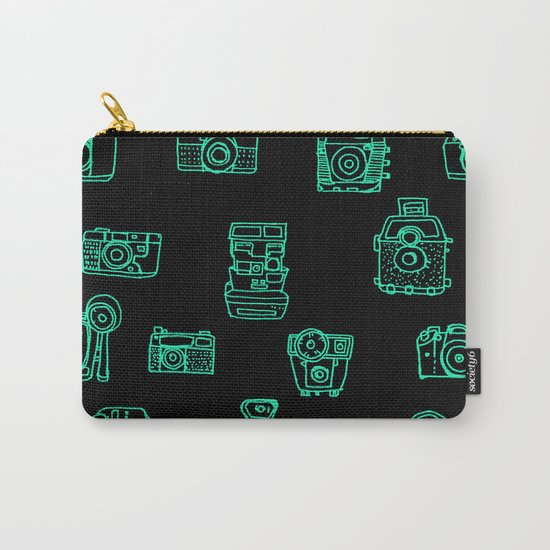 Cameras: Teal Carry-All Pouch
