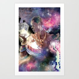 MOTHER BOXX Art Print
