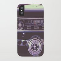 mustang iPhone & iPod Cases featuring Mustang by Jeremiah Locke