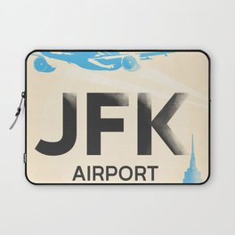 JFK stylish airport code Laptop Sleeve