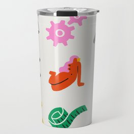 Virgo Emoji Travel Mug