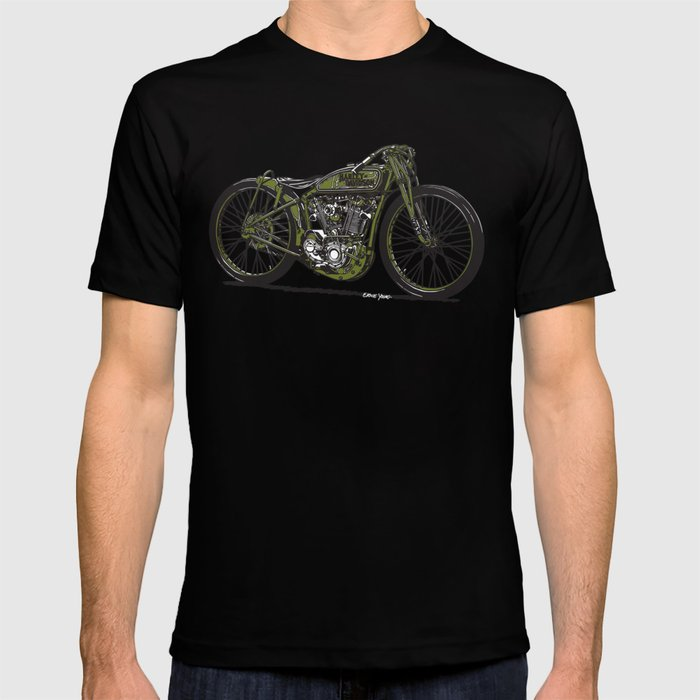 Harley Board Tracker Motorcycle T-shirt