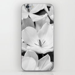 The Bloom (Black and White) iPhone Skin