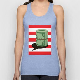 Individuals&Organizations Have a Constitutional Right to Unlimited Spending on Their Own Pol. Speech Unisex Tank Top