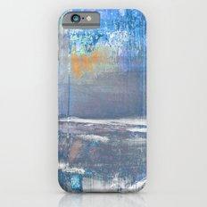 Blue Color Patches Slim Case iPhone 6s