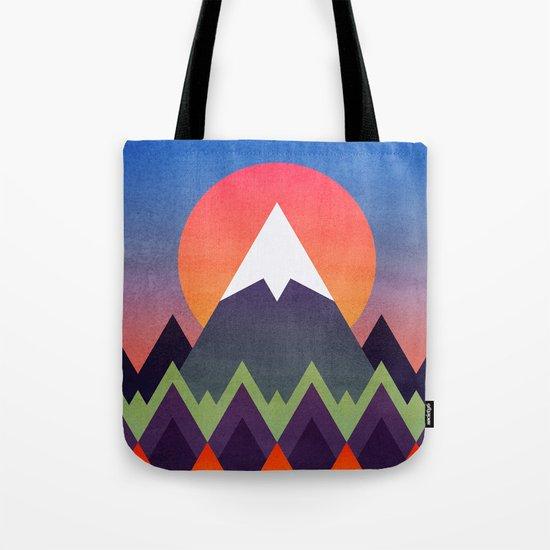 Camp / Sunset Version Tote Bag