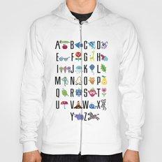 Alphabet Cute  Hoody