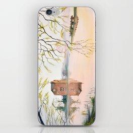 Fladbury Weir iPhone Skin