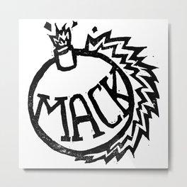 MackBomb Metal Print