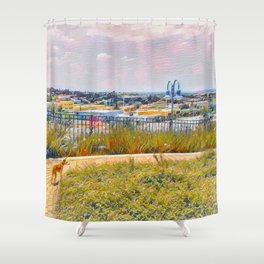 The World Would Be A Nicer Place If Everyone Had The Ability To Love As Unconditionally As A Dog Shower Curtain