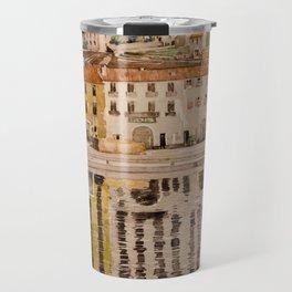 """Charles Rennie Mackintosh """"Quai des Douanes"""" Travel Mug"""