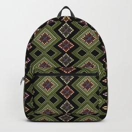 Boho embroidery 3 Backpack