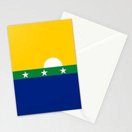 flag of nueva esparta, Venezuela Stationery Cards