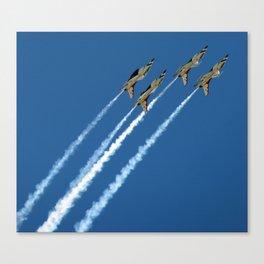 Wild Blue Yonder - Aviation & Airplanes Canvas Print