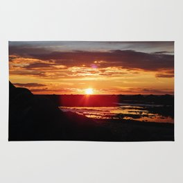 Ground Level Sunset Rug