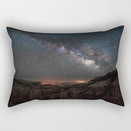 MILKY WAY OVER FAIRYLAND CANYON Rectangular Pillow