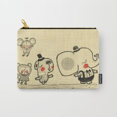 Forest Friends \ Cute Animals March\ elephant cats dogs  Carry-All Pouch